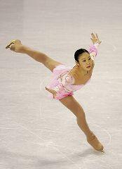 フィギュアスケートの四大陸選手権最終日、中野友加里は総合2位