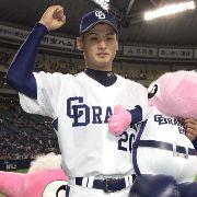 中日対阪神 好投して5勝目を挙げた中田 ナゴヤドーム