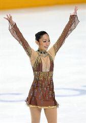 ロシア杯で逆転優勝した安藤美姫