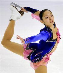 スケートアメリカ女子SPで2位につけた安藤美姫=エバレット