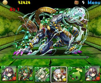 パズドラ 木の護神龍