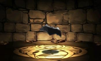 パズドラ バットマンのエンブレム