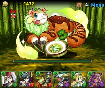 パズドラ 緑の丼龍