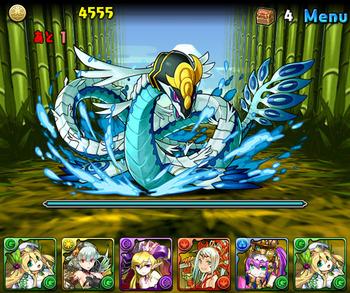 パズドラ 水の戦国龍