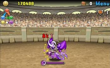 パズドラ 極限の闘技場 ヤミピィ
