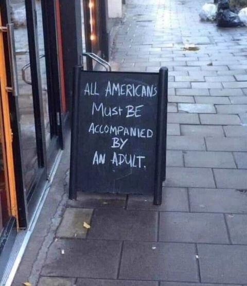 「イギリスの店がアメリカ人観光客の事を煽ってしまう」海外の反応