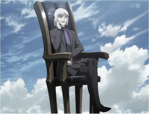 Jormungand-12_2-Koko-in-a-chair