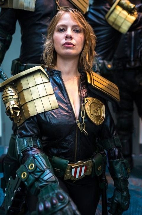 Judge Anderson from Judge Dredd