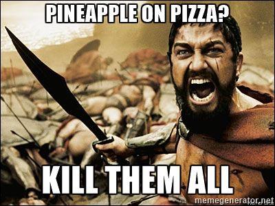 アイスランド大統領「ピザにパイナップルは邪道。法律で禁止したい」海外の反応