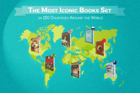 「世界各国の最もその国を象徴している本」海外のまとめ