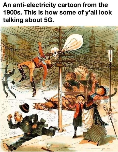「5Gがコロナを拡散するという陰謀論が飛び交い電波塔が放火され問題に」海外の反応
