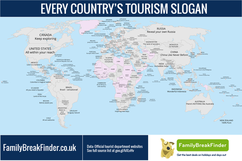 「世界各国の観光スローガン」海外の反応