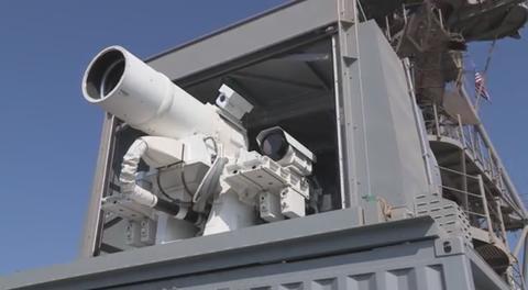 「米海軍が公開した1発59セントの最新レーザー兵器が話題に」海外の反応