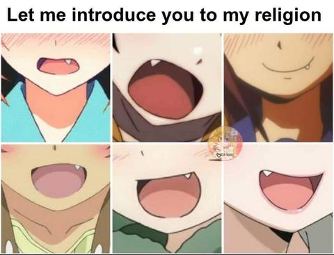外国人「アニメの『八重歯』の可愛さは宗教を創始できるレベル」海外の反応