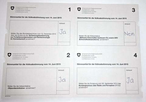 スイス人「有名なスイスの直接民主制の投票方法を紹介する」海外の反応