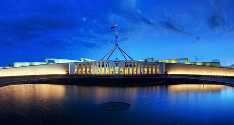 800px-Parliament_House_Canberra_Dusk_Panorama