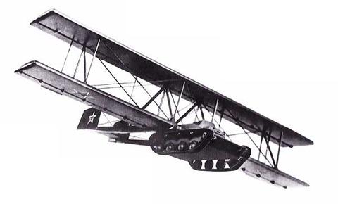 Antonov-A-40-KT-Soviet-Flying-Tank-Inflight