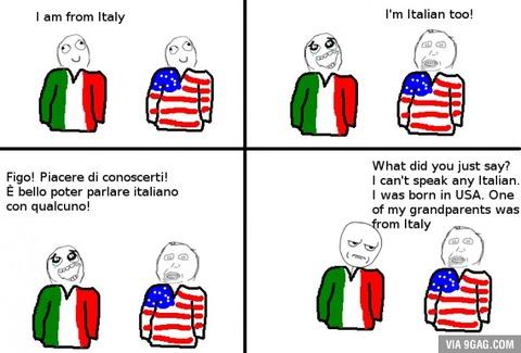 イタリア人「自分のことを『イタリアン』だと主張するアメリカ人が多すぎる」海外の反応