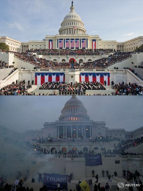 「トランプ支持者がアメリカ連邦議会を襲撃」海外の反応