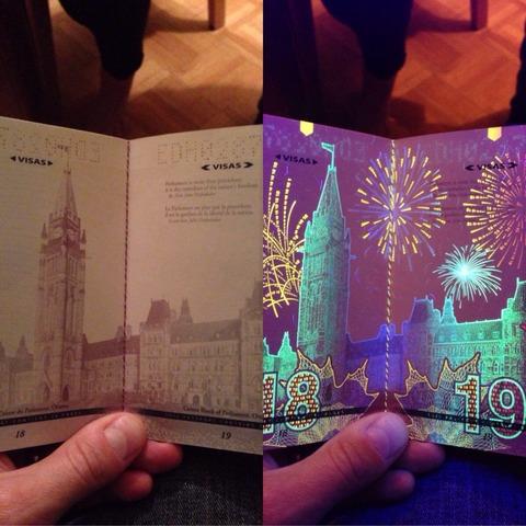 「カナダの新しいパスポートに施された仕掛けが話題に」海外の反応