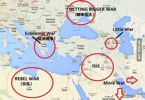 「トルコ視点で周辺諸国を見ると問題しか起きてない」海外の反応