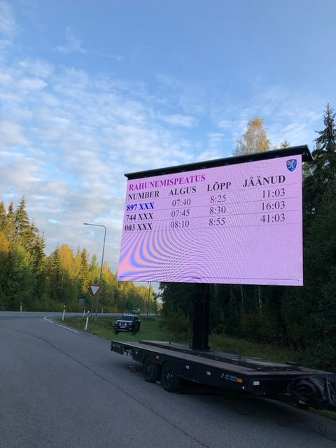 「エストニアがスピード違反者に対して『時間』を罰として科す試み」海外の反応