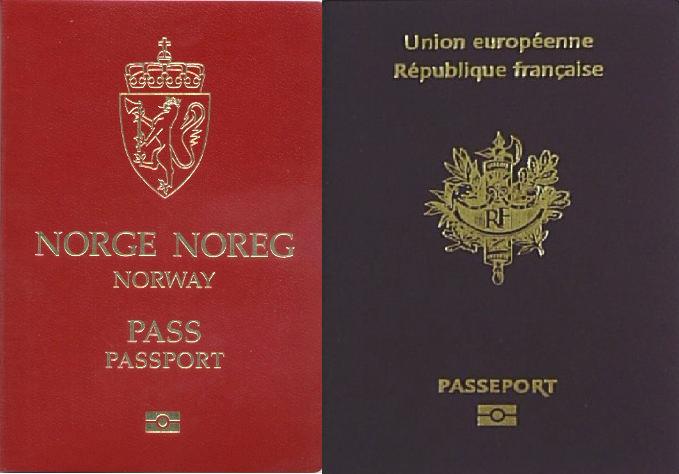 パスポートnorway