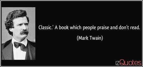 「マーク・トウェインが定義する『古典』に合致しそうなアニメ・マンガ」海外の反応