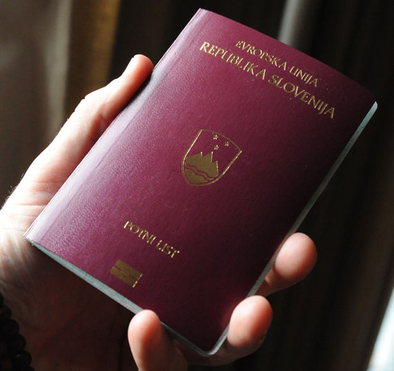パスポート新スロヴァキア