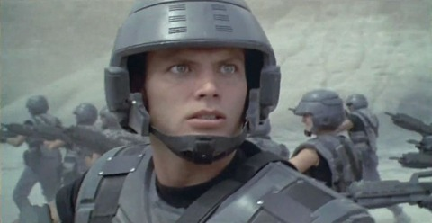 RiffTrax-_Casper_Van_Dien_as_Johnny_Rico_in_Starship_Troopers