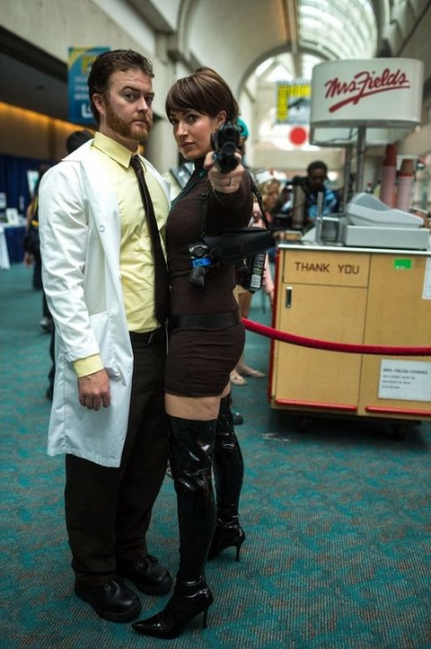 Krieger and Lana from Archer