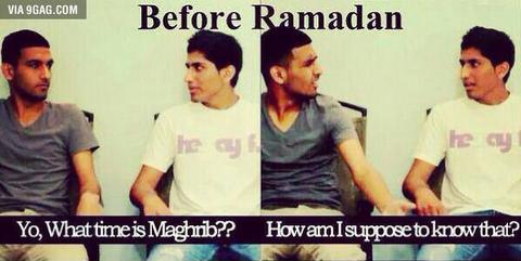 「ラマダン期間中のイスラム教徒にありがちなこと」海外の反応