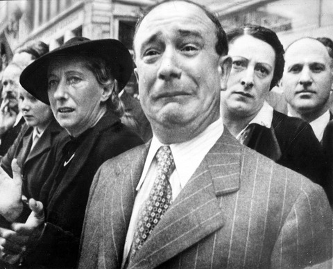 The weeping Frenchman, 1940
