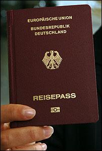 パスポートドイツ