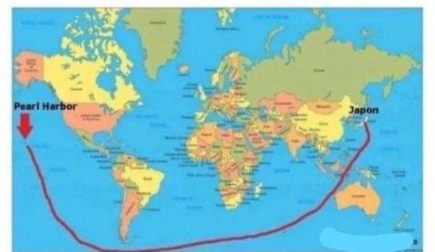 地球平面主義者「日本が真珠湾を攻撃したと考えるのは非現実的」海外の反応