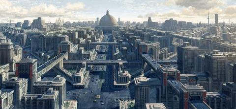 「ヒトラーの『世界首都ゲルマニア』構想をベースにしたコンセプトアートが話題に」海外の反応