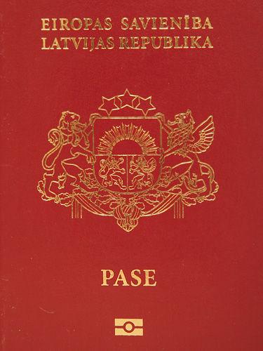 パスポートラトビア