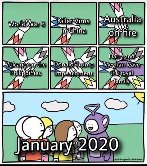 「コロナウイルスといい2020年は1月から出来事が多すぎる」海外の反応