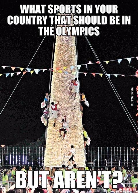 「オリンピックに導入されるべきだと思う自国のスポーツ」海外の反応