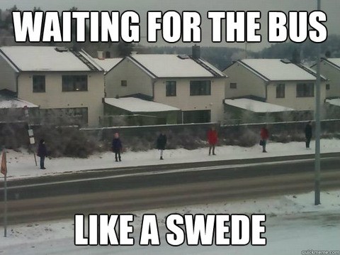 Swedish Bus Stop Joke