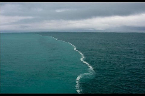 place where two oceans meet