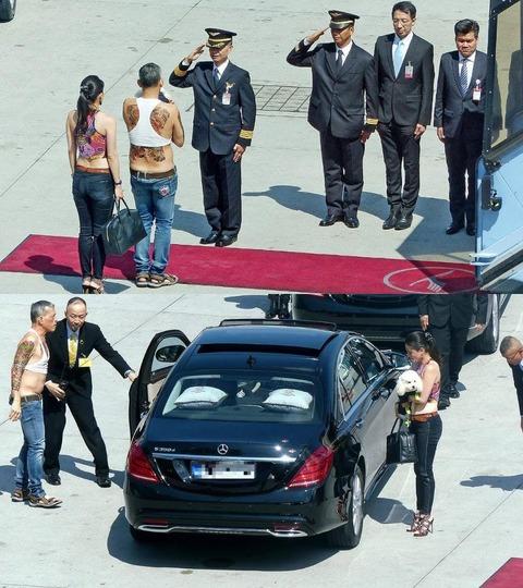 「タイの次期国王が非常にオラついていると話題に」海外の反応
