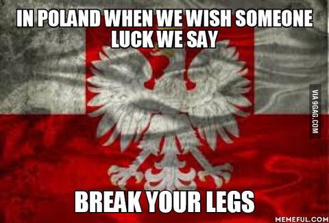 「相手の幸運を祈るとき外国でもポーランドのような独特の言い回しがあるのか」海外の反応