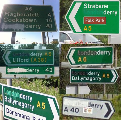 「北アイルランドでは400年前に変更された都市名が未だに物議を醸してる」海外の反応