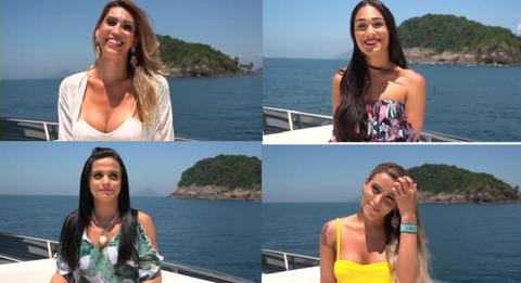 「見た目が女性の10人と生活し1人の女性を見つけ出すブラジルの番組」海外の反応