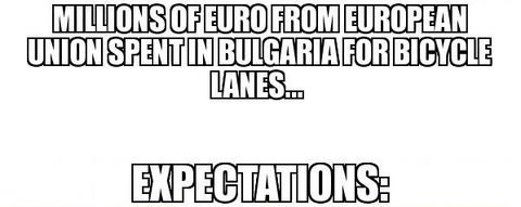 ブルガリア人「EUのお金で作ったブルガリアの自転車道は悲惨」海外の反応