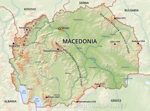 macedonia-physical-map