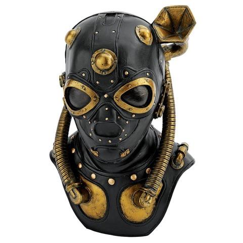 Steampunk+Apocalypse+Gas+Mask+Sculpture