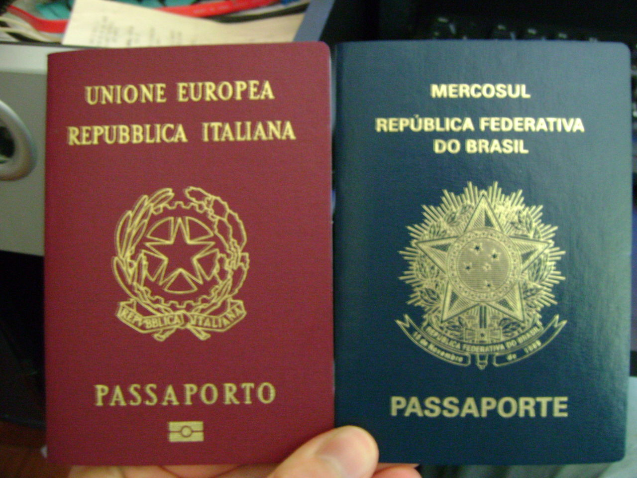 パスポートブラジル