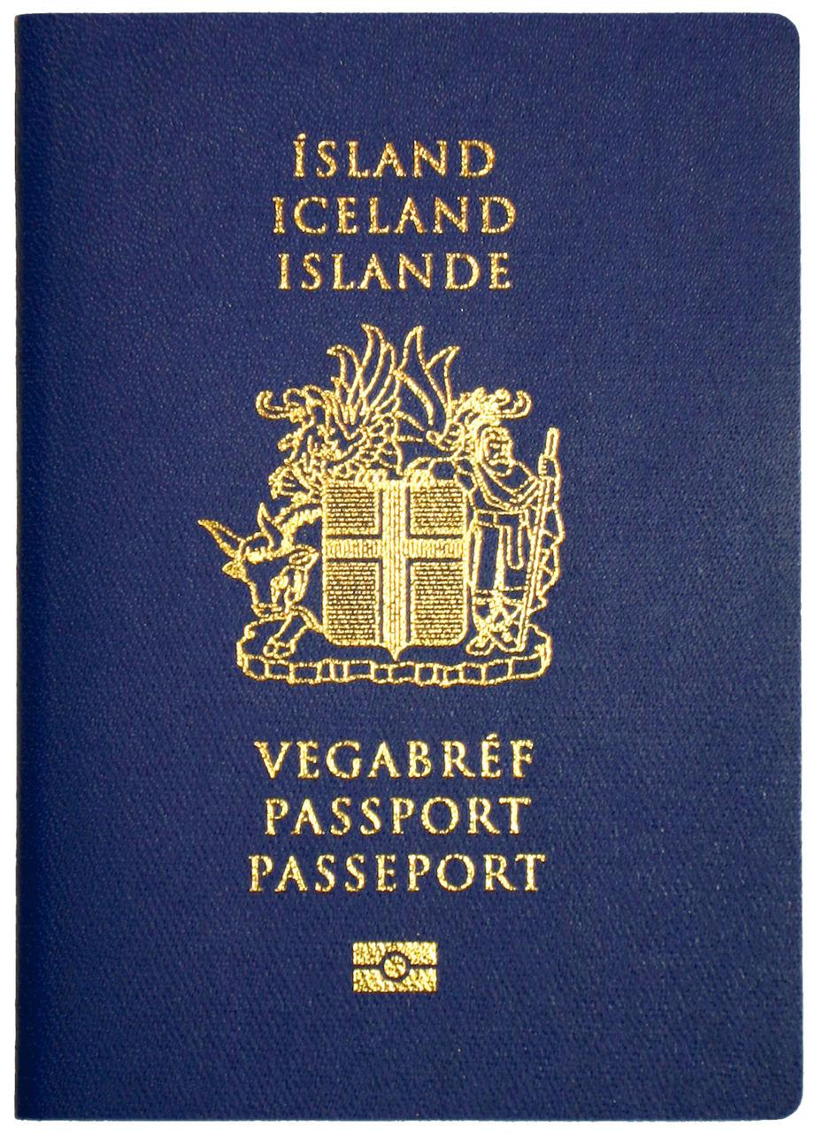 パスポートアイスランド